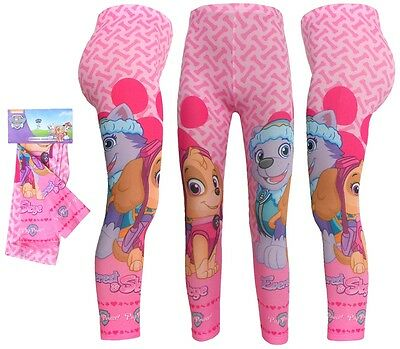 Paw Patrol Girls Leggings 2-8 Years New with Tags