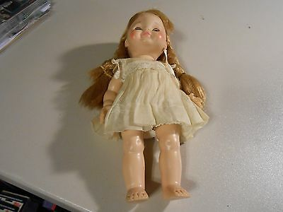Vintage 1964 11 inch Vogue Doll with long red hair-See Photos!