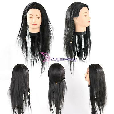 Professional Salon Hair Styling Hairdressing Practice Head Training Mannequin