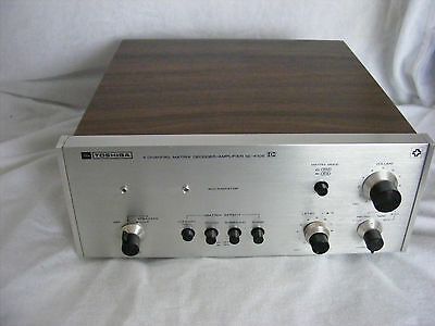 Toshiba Quadraphonic Decoder/Amplifier 1970's SC 410S Untested/spares or repair