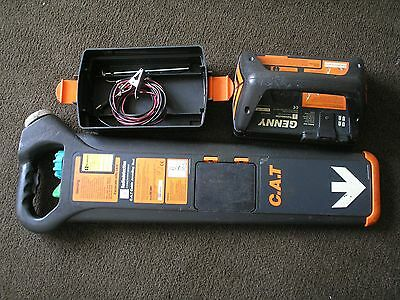 cat c.a.t genny mk2 radiodetection cable avoidance detector 33kz locator scanner