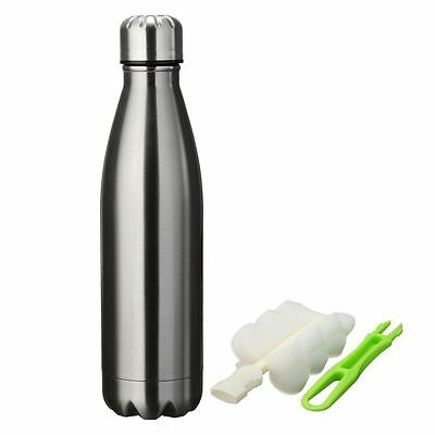 Stainless Steel Insulated double walled water bottle  with FREE CLEANING BRUSH