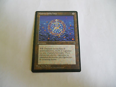 1x MTG Matrice della Vita-Life Matrix Magic EDH LEGGENDE Leg ITA Italiano x1