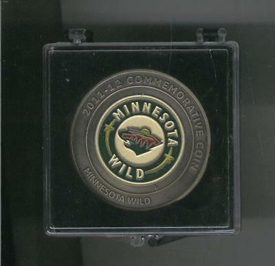 2011 - 12 MINNESOTA WILD NHL Hockey US Coin LICENSED AT&T SERIAL #0657/5000 RARE