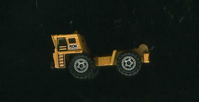 """Vintage 1989 Matchbox Yellow All Metal Dump Truck 2 3/4"""" Scale 1:140  Very Rare!"""