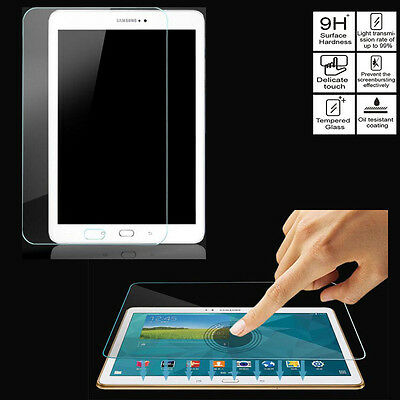 Tempered Glass Screen Protector for Samsung Galaxy Tab 2 3 4 E A S S2 Tablet Lot