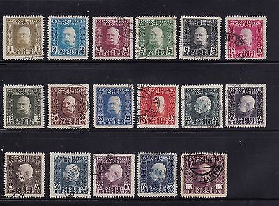 1879-1938 Bosnia & Herzegovina Collection: 1a, 20, 30-45, 46-61, 63 CATV $50~