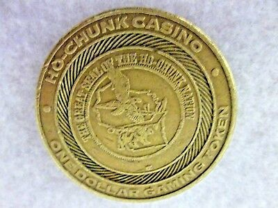 Ho-Chuck Casino Baraboo, WI $1 Dollar Gaming Token (B5)