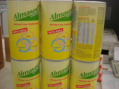 6x Almased Vital Food Weightloss 500g 100% Nature Diet Soy