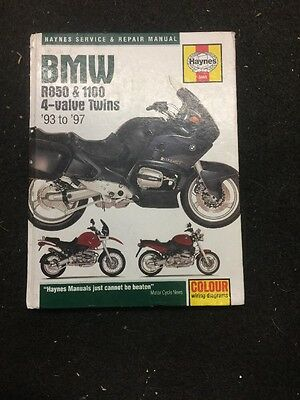 BMW Gs1100 Haynes Manual Includes BMW Rt1100 .r850gs,r1100 93 To 9