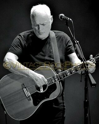 David Gilmour Photo 8x10 inch 2016 MSG NYC, NY Rattle That Lock Concert Tour 179
