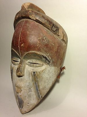 Authentic Art African Wooden Mask