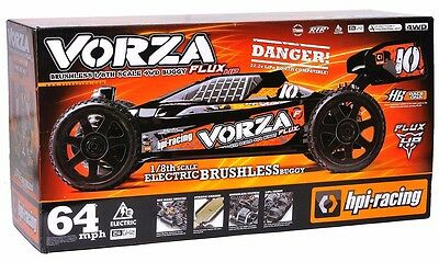 Brand New HPI Racing Vorza Flux HP Brushless RTR 1/8 4WD Buggy 2.4Ghz 101850