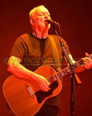 David Gilmour Photo 8x10 inch 2016 MSG NYC, NY Rattle That Lock Concert Tour 142