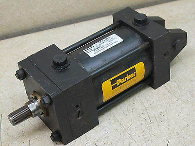 "Parker,  3 1/4""  Bore  X  3""  Stroke,  Pneumatic Cylinder,   Series 2An"