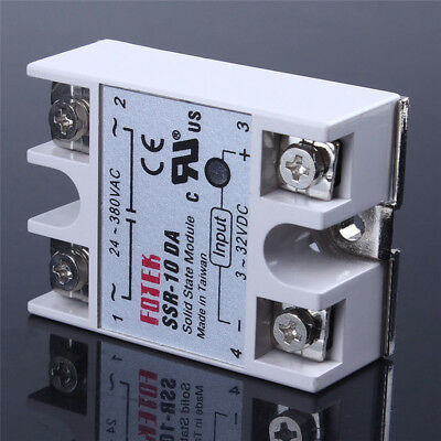 24V-380V SSR-40AA 40A Solid State Relay PID Temperature Controller Single-Phase