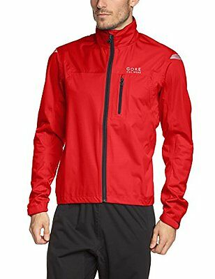 GORE BIKE WEAR, Giacca Uomo Element Gore-Tex Active, Rosso (Red), M