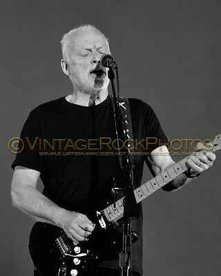 David Gilmour Photo 8x10 inch 2016 MSG NYC NY Rattle That Lock Concert Tour 124b