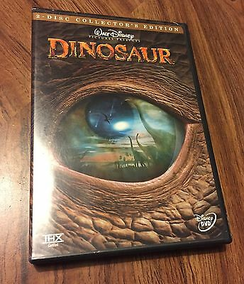Dinosaur (DVD, 2001, 2-Disc Set, Special Collector's Edition) Disney