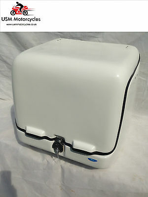 FRP FIBERGLASS DELIVERY BOX 139 L EXTRA LARGE WHITE BOX (Insulated)
