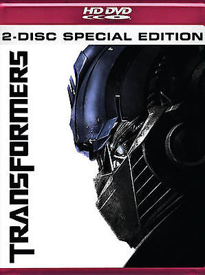 Transformers (HD DVD, 2007, 2-Disc Set, Special Edition) NEW SEALED