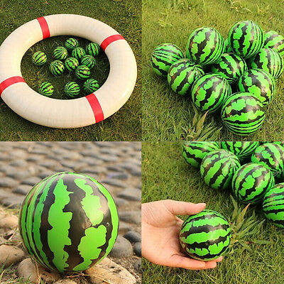 6.3cm Watermelon Shaped Hand Wrist Exercise Stress Relief Squeeze Foam Ball LC