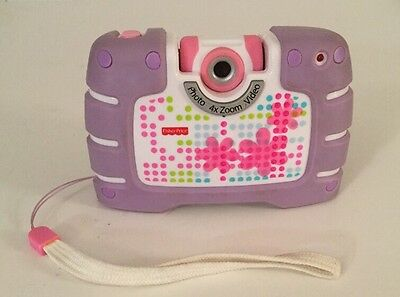 Fisher Price Camera, Photos, Video, 4x Zoom, Real Camera