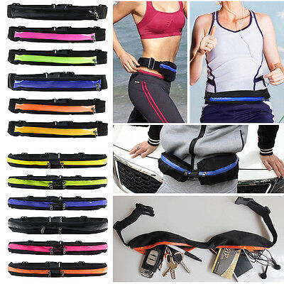 Sports Gym Fanny Pack Belly Waist Bum Bag Fitness Hike Jogger Cycling Belt Pouch
