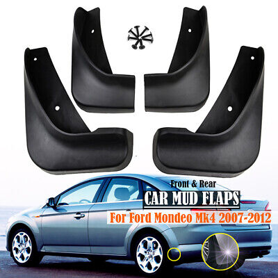 For Ford Mondeo Mk4 2007~2012 4x Mud Flaps Splash Guards Mudguards Front Rear