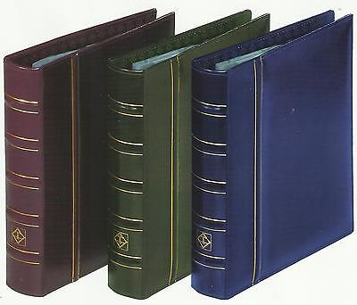 LIGHTHOUSE VARIO CLASSIC LEATHERETTE BINDER RED COLOUR with 20 VARIO STAMP PAGES