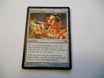 1x MTG Wine of Blood and Iron-Vino di Sangue e Ferro Magic EDH SOK Saviors x1