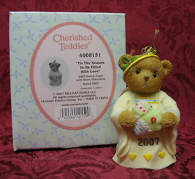 Cherished Teddies~2007 Dated Ornament Bell