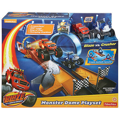 Fisher-Price Nickelodeon Blaze And The Monster Machines Monster Dome  - NEW