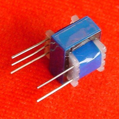 z 25pcs EI-16 Multi-Impedance Audio Transformer 120K:600 ohm 30K:600 ohm e