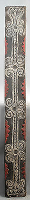 A Large Spirit Board With Clan Designs Washkuk Mountains Papua New Guinea #1