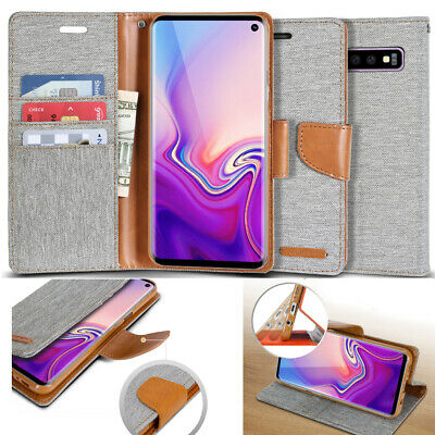 For Apple / Samsung / LG Luxury Flip Cover Wallet Card Leather Phone Case Stand