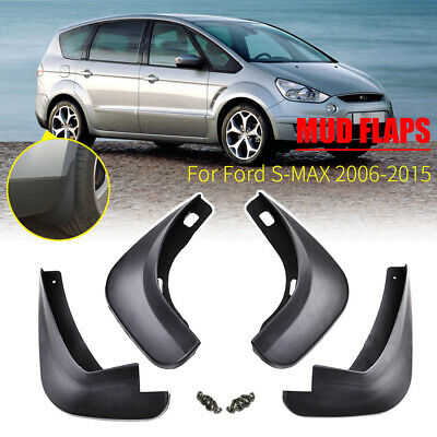 Fit For Ford S-Max 06-15 Front and Rear Molded Mud Flaps Splash Guards Mudflaps