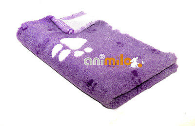 Tapis Confortbed Vetbed Dry Extra grosses pattes 26 mm violet 75x100 cm
