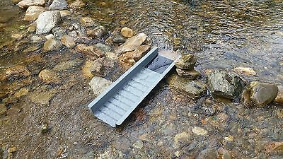 Gold sluice box new.Drop riffle sluice box new for gold panning /prospecting