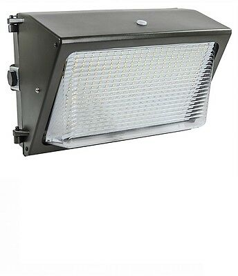 Lights of America 65 Watt Dusk to Dawn LED Wall Pack (91465E2-BR5) 6000 Lumens