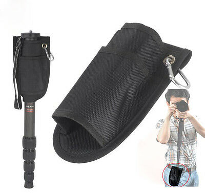 Fixed Portable Waist Bag Pouch Pocket For Supporting DSLR Camera Monopod Tripod
