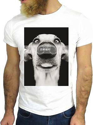 T Shirt Jode Z1607 Dog Smile Nose Happy Animal Japan Funny Cool Fashion Nice Ggg
