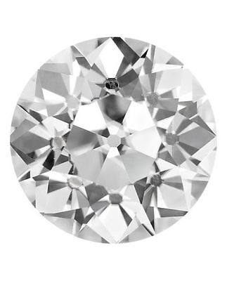 Old European Cut Forever Brilliant Moissanite 1.05 carat 6.72 mm loose