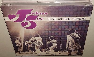 Jackson 5 Live At The Forum (2010 Release) Brand New Sealed 2Cd Set Michael Tito