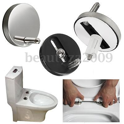 2pcs Toilet Seat Fix Fitting Rubber Back To Wall Universal Replacement Hinge Top