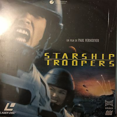 LASERDISC - Starship Troopers PAL VF WS