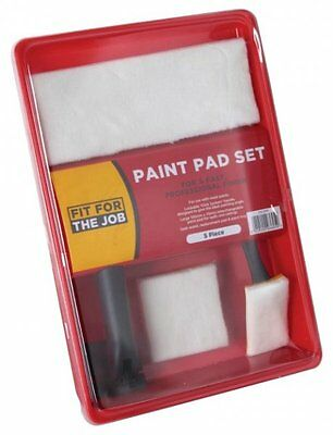 FFJ Click System Paint Pad Set Painter & Decorators Roller Kit (FFJCSPPS)