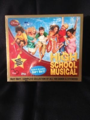 TOPPS Gift set - Complete set 100 cards + stickers HIGH SCHOOL MUSICAL (G)