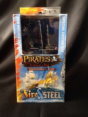 Wizkids - Pirates of the Cursed Seas Fire & Steel Constructable Game 2008 (G11)