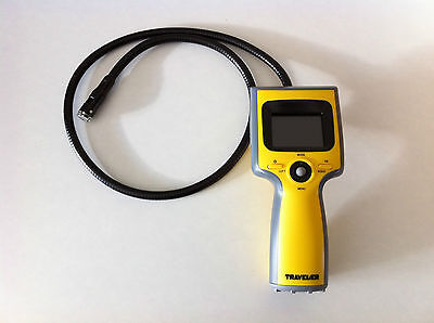 "Inspection Video Camera Borescope Traveller TV-EC2M 2.4"" LCD Colour Display"